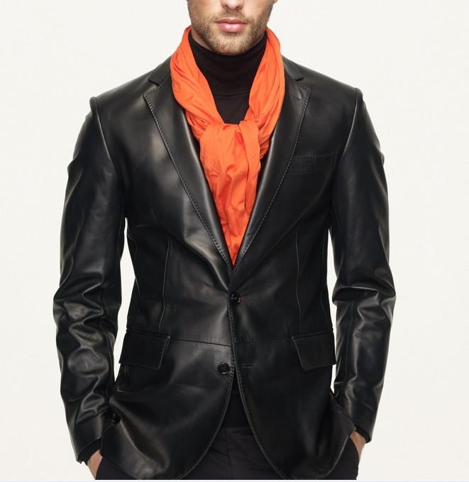 Blazer Coat Mens Mens Leather Sport Coat/blazer