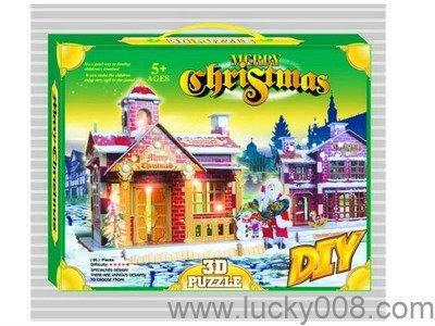 3D PUZZLE CHRISTMAS VILLA