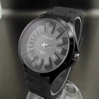Наручные часы S5Y NEW ANALOG QUARTZ HOURS CLOCK DIAL RUBBER MEN WOMEN UNISEX WRIST WATCH