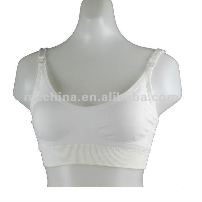 Seamless Comfort Pregnant Maternity Breast Nursing Bra/feeding Bra
