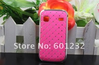 Rhinestone bling diamond Starry  electroplating cover case For Samsung Galaxy Gio S5660  EMS&DHL free shipping 100pcs/lot
