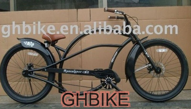 24inch long CE beach cruiser chopper bike