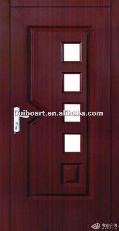 Modern Plain Solid Wood Interior Door Buy Modern Plain