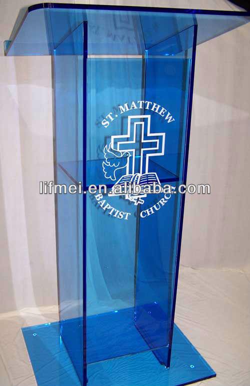 acrylic church lectern