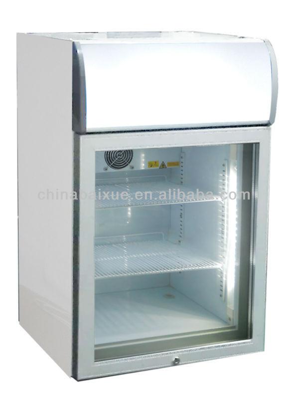 Countertop Ice Cream Freezer : Countertop ice cream freezer/freezer/mini freezer/glass door freezer ...