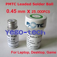 PMTC Leaded Solder Ball 0.4 mm 25, 000 PCS, Best Quality, & Retail