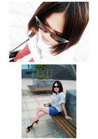 Free shipping wholesale +100%UV resistance material fashion  cat eye women sunglasses SN-002