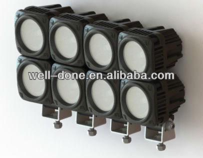 linkable square mini 10W LED light, motorcycle LED driving lgiht, LED off road light.