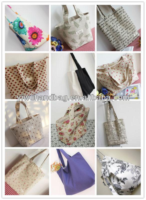solid pattern cheap folding shopping bag