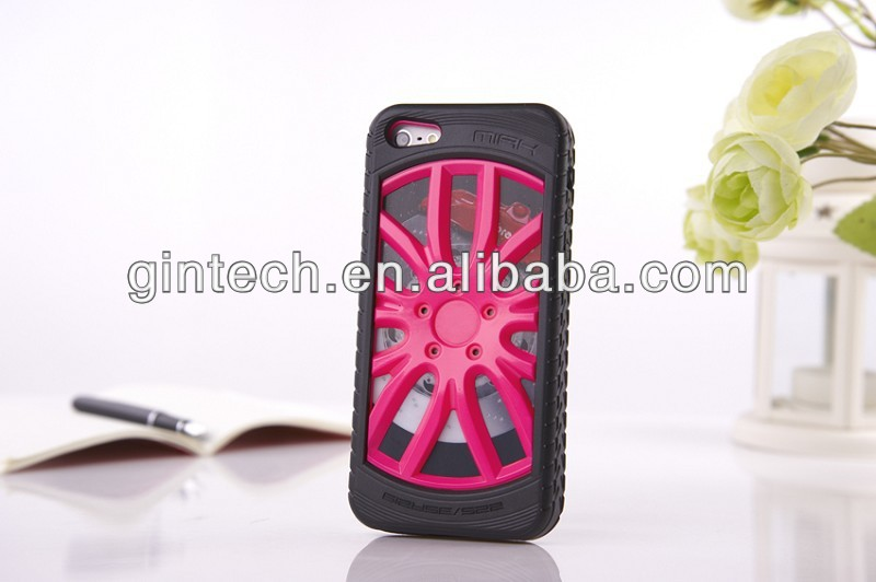 Removable wheel phone case for iphone 5s,for iphone 5 plastic hard mobile phone cover