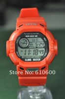 Наручные часы 2012 NEW OTS 5ATM Shock Digital Outdoor Waterproof Men Sport Watch G 6907 Red