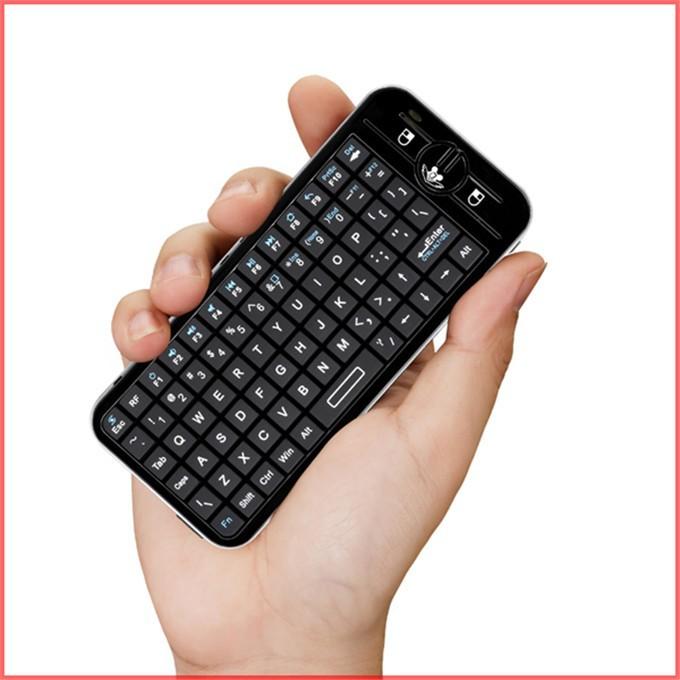 Беспроводной воздуха 100% мышь клавиатура 2,4 ГГц летать воздуха мышь беспроводная клавиатура комбо пульт русской клавиатуры