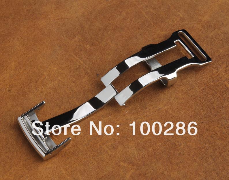 20 мм часы пряжка из нержавеющей стали 316L полированная развертывания застежка для Breitling ремешок бесплатная доставка