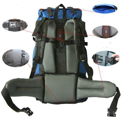 Fashion waterproof hiking backpack bag manufature