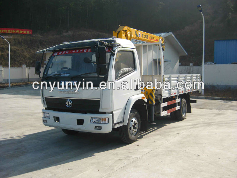 DONGFENG 3.2TON/5ton off-road RHD TRUCK MOUNTED CRANE