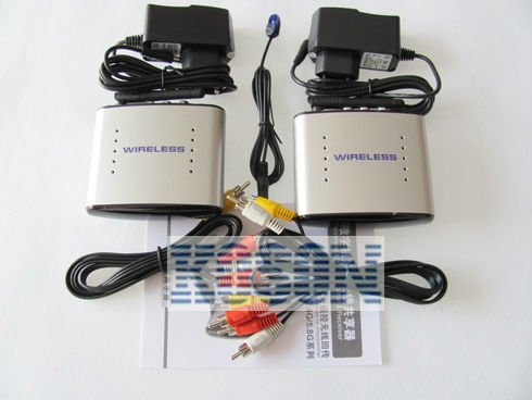 ,2.4G AV Sender &IR Remote Extender Wireless Transmitter-09