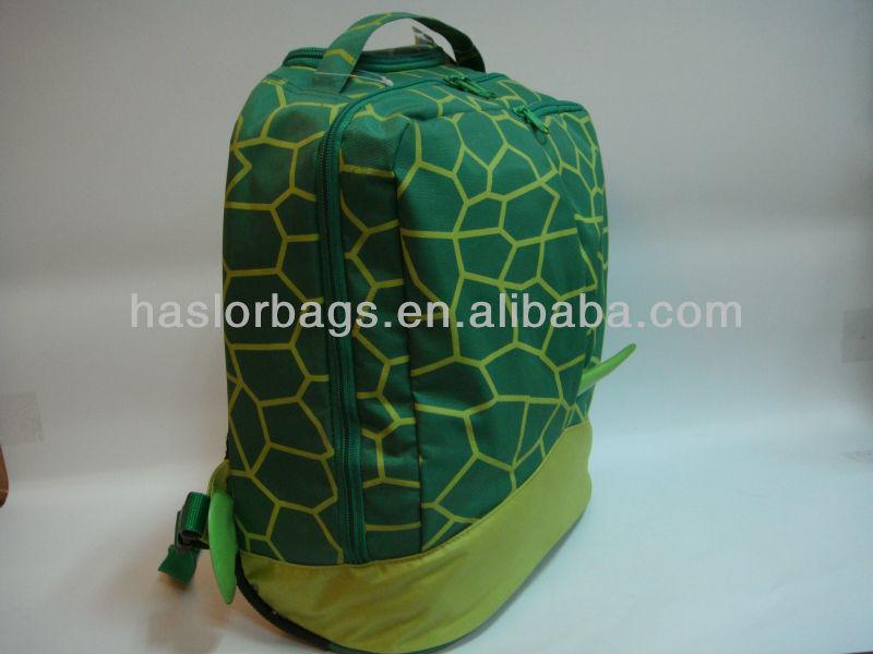 Mignon tortue verte sac à dos pour enfants