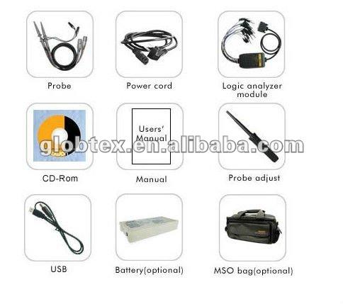 المزدوج القنوات و 100 ميغاهيرتز النطاق الترددي الذبذبات التخزين الرقمي( mso8102t)