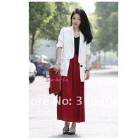hot sell soft chiffon long skirt bohemian pleated 100cm length 80cm width free ship factory price high quality  11112SK