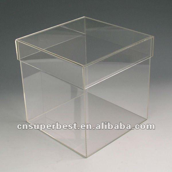 Hot Sale Clear Acrylic Box With Lid Buy Clear Acrylic
