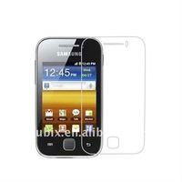 Защитная пленка для экрана 3 Samsung galaxy y S5360 fingerprinter & , CUBIX S5360SA