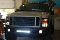 Система освещения Christmas sale 54W tractor truck led work light, 4x4 off road light, off road light bar For Engineering Machine