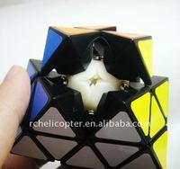 LanLan Face Turning Octahedron Speed Cube Black Magic Cube Puzzle
