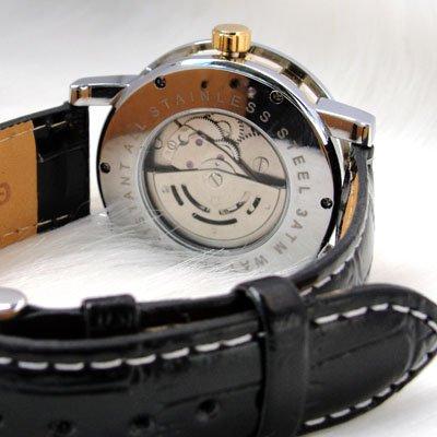 Clock! Moda Relógio Mecânico Automático Preto Frete Grátis