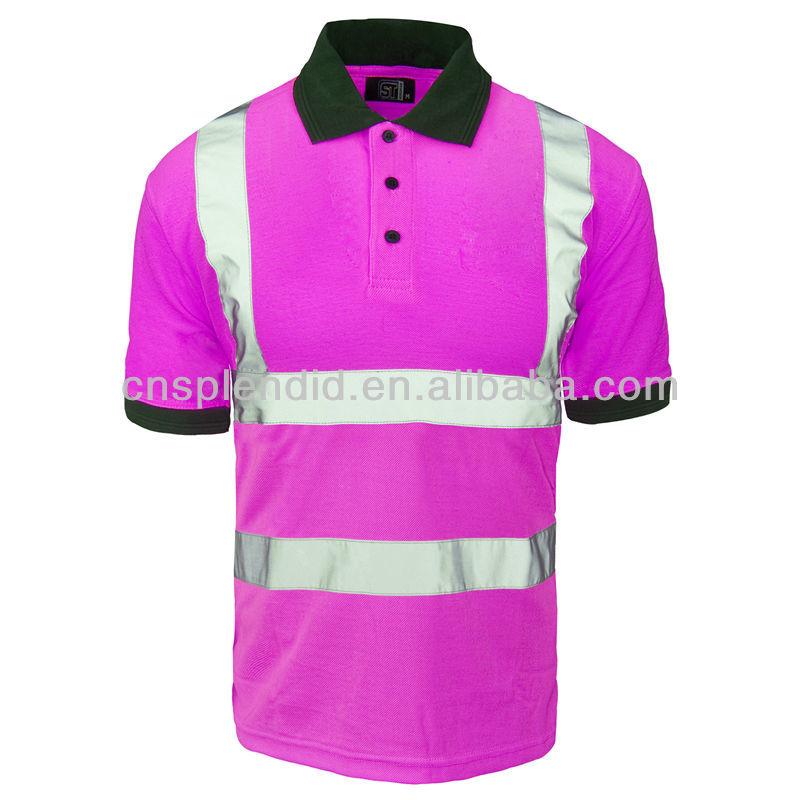 3m Reflective Safety Hi Vis Polo Shirt Men Wholesale