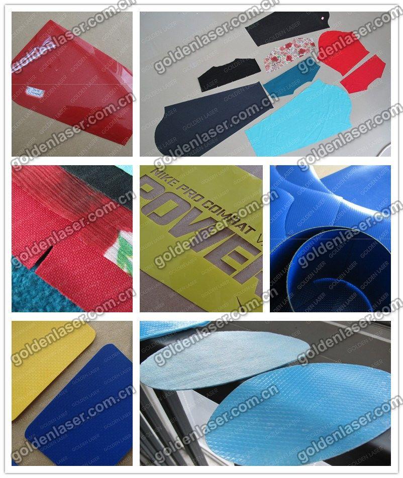 넓은 지역에 polyester/ 폴리 아미드 레이저 커팅 머신/ 산업 섬유 ...