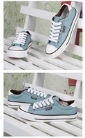 Женские кеды 2012 New Style Canvas Flat Base Shoes Casual Shoes For Girls/C008