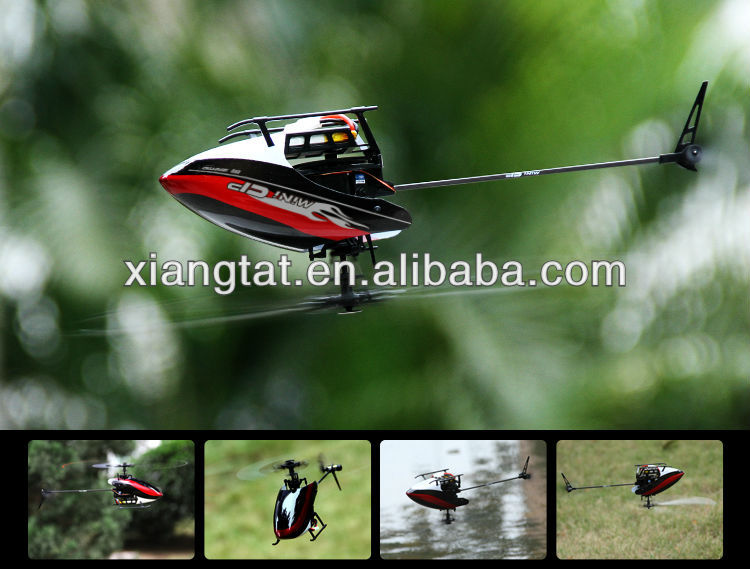 Walkera Mini CP Flybarless 6 Channels 3D Micro 6CH RC Helicopter RTF W/ Devo 7 Radio controller Transmitter