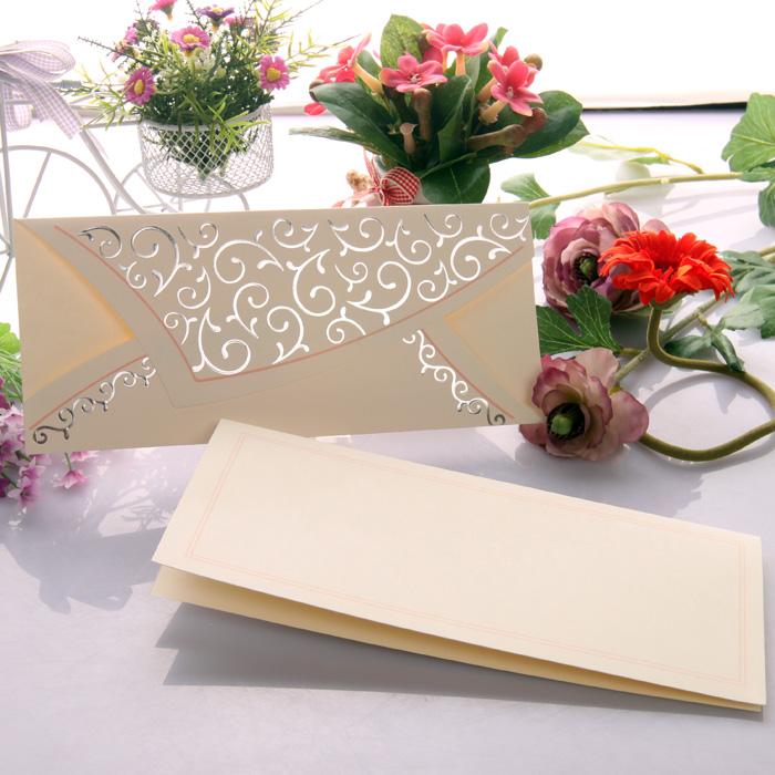 affordable Christian wedding invitation card