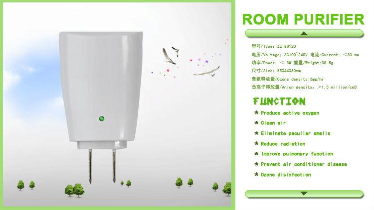 Trump/Mini air purifier/Travel/ Portable/small size/ZE-86120