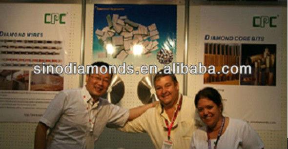 3 inches/75mm metal bond diamante almofadas de polimento de piso máquina de moer