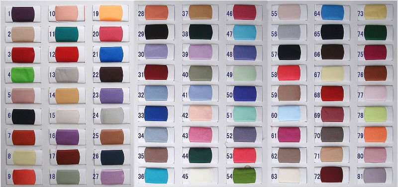dress color chart
