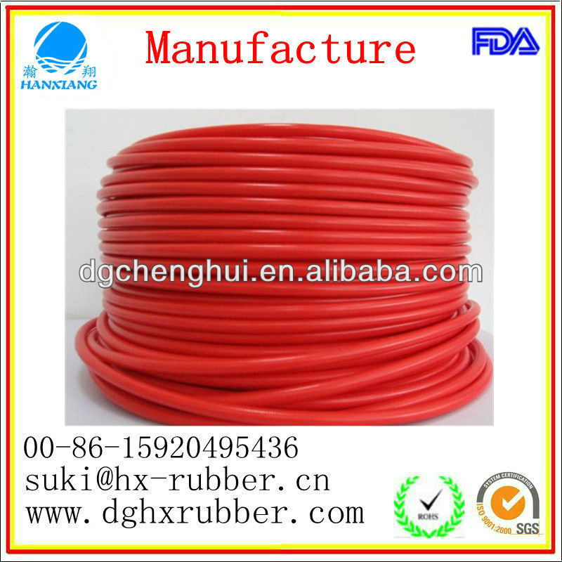 Utility Nontoxic Silicone Red Rubber Tube With High Quality And Competitive Price