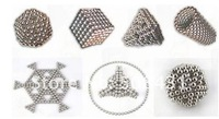Неокубы, Кубики-Рубика 2012 most interesting&learning magnetic ball neocube puzzle changable toy 1sets/lot 5mm 125pcs