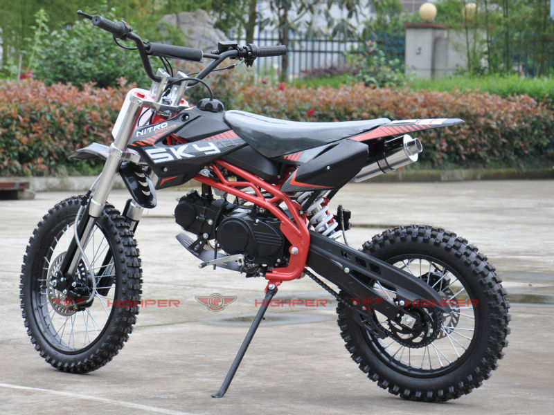 125cc gas powered dirt bike 17/14(DB610)
