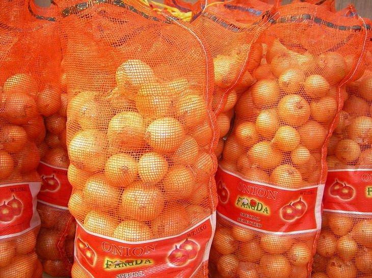 китай не - очищенные золотой свежий лук