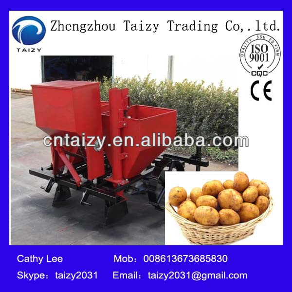 Best selling Two row potato planter 008613673685830
