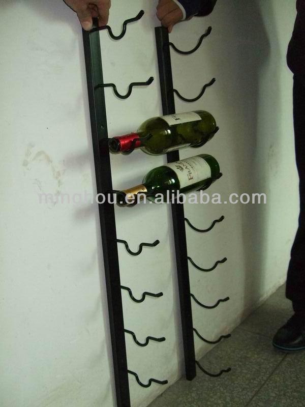 深セン2014年1壁に取り付けられたワインボトルの金属ホルダー問屋・仕入れ・卸・卸売り