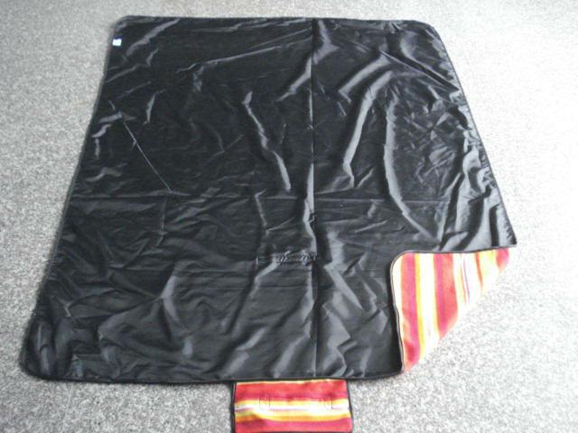 Fleece picnic blanket, travel blanlet