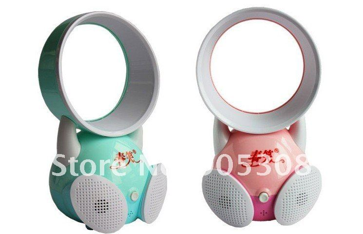 Creative audio features Mini USB turbo leaf fan color randomly