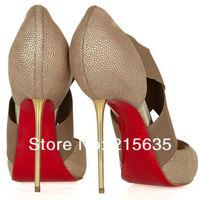 Туфли на высоком каблуке 2012 new fish mouth high-heeled shoes