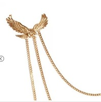 Брошь New arrived Personality eagle alloy chains brooches for man or woman Mini order $15 Mix order +gift