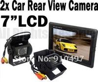 Система помощи при парковке 7 LCD + 2 x IR + 10