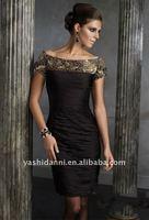 Коктейльное платье off-shoulder above-knee cocktail dress