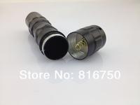 Светодиодный фонарик 10pcs/lot 3W mini led flashlight touch waterproof zoom out cheap price