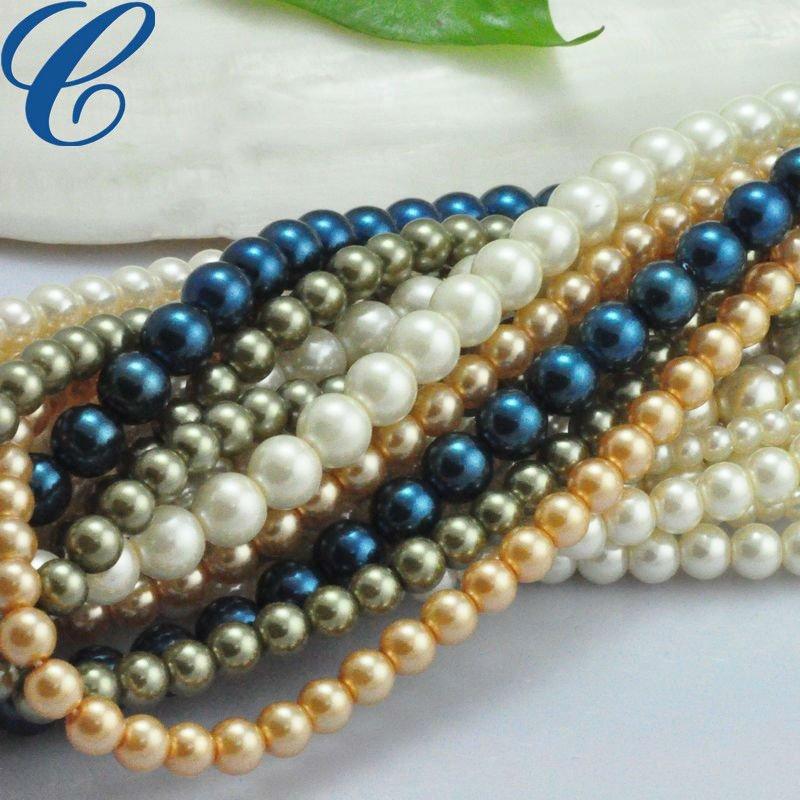 Strand Beads Fake Pearls